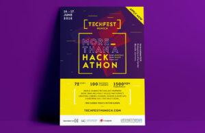 Techfest Munich, Corporate Design, Grafikdesign, Veranstaltung, Branding