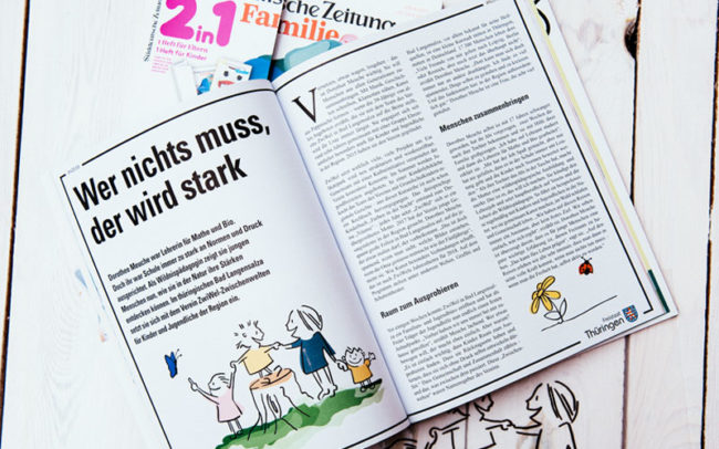 Editorial, Illustration, Magazin, Redaktionell, werbung